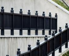 Black Metal Handrail