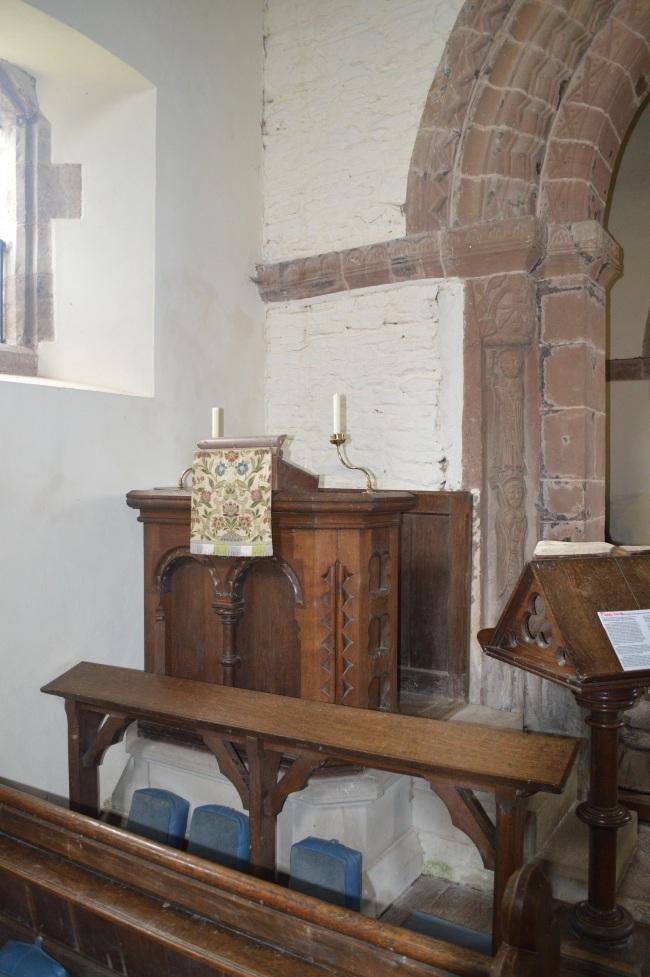 Interior of Cristian Church