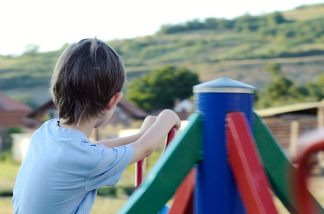 Small Child in Play-park