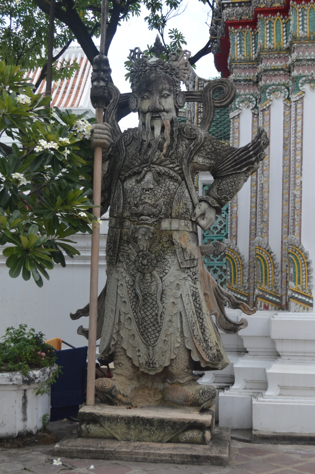 Large Anthropomorphic Buddhist Statue