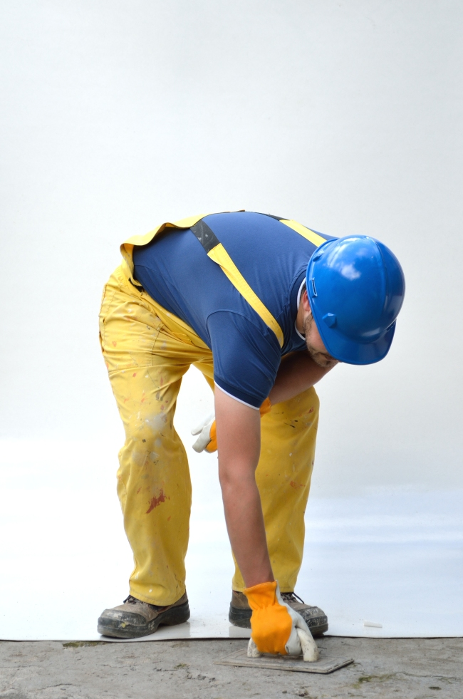 Blue-Collar Worker with Jumpsuit