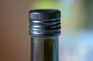 Cap on a Bottle - Close-Up