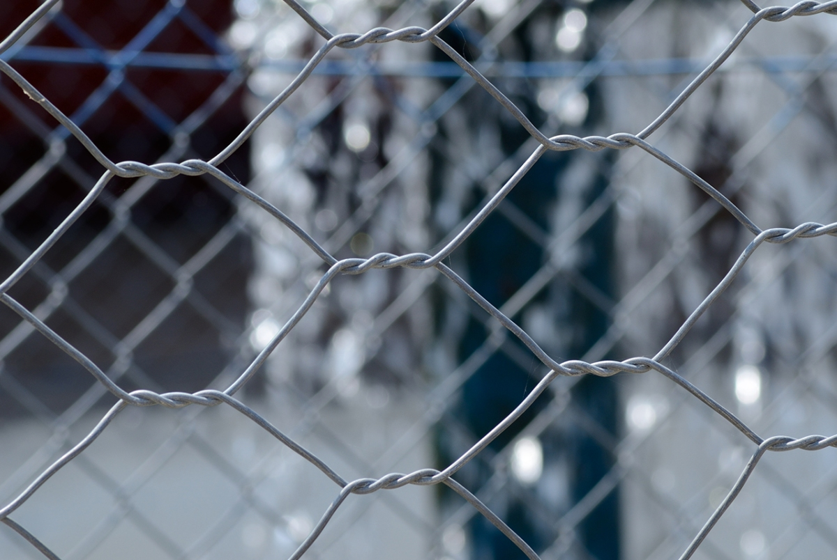 Chain Link Fence Close Up Gimmeges