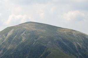 Ridge on a High Mountain