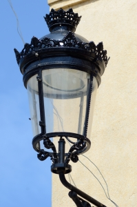 Metal Street Light