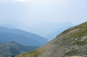 Steep Slope in the Mountains