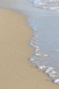 Beach Sand with Wave