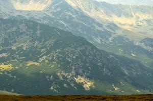 A Few Mountains in Sunlight