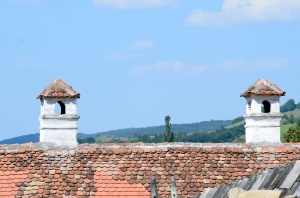 Chimneys with Beautiful Shape