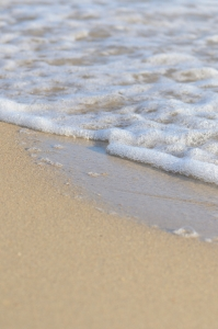 Golden Sand with Foam