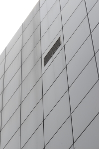 Modern Wall of a High Building