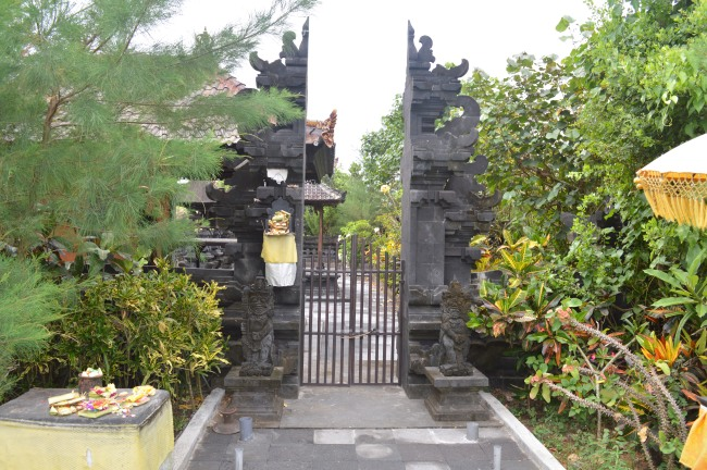 Entrance Gate decorated with Statues