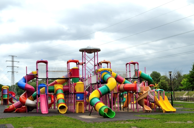 Colored Playground for Children