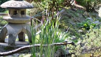 Stone Alley In Japanese Garden Gimmeges - Japanese garden ornaments