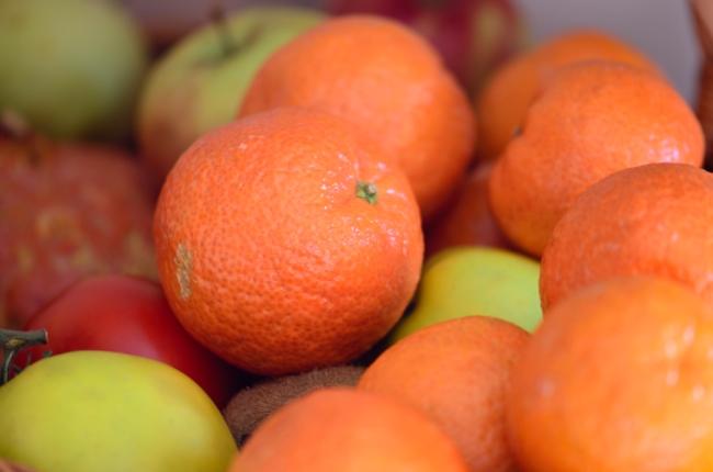 Organic Apples and Oranges