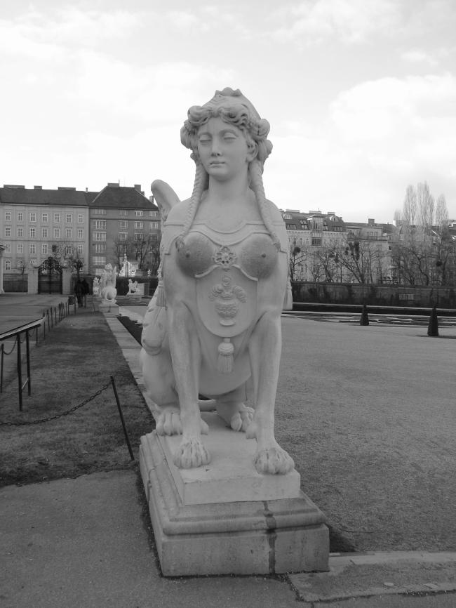 Mythical Guardian of Belvedere Schlossgarten