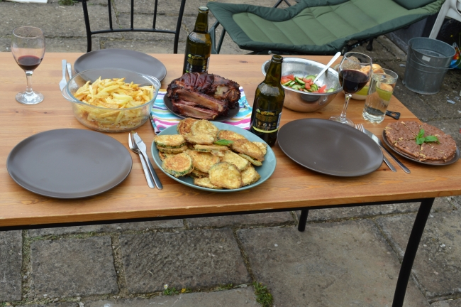 Food and Drinks on the Table