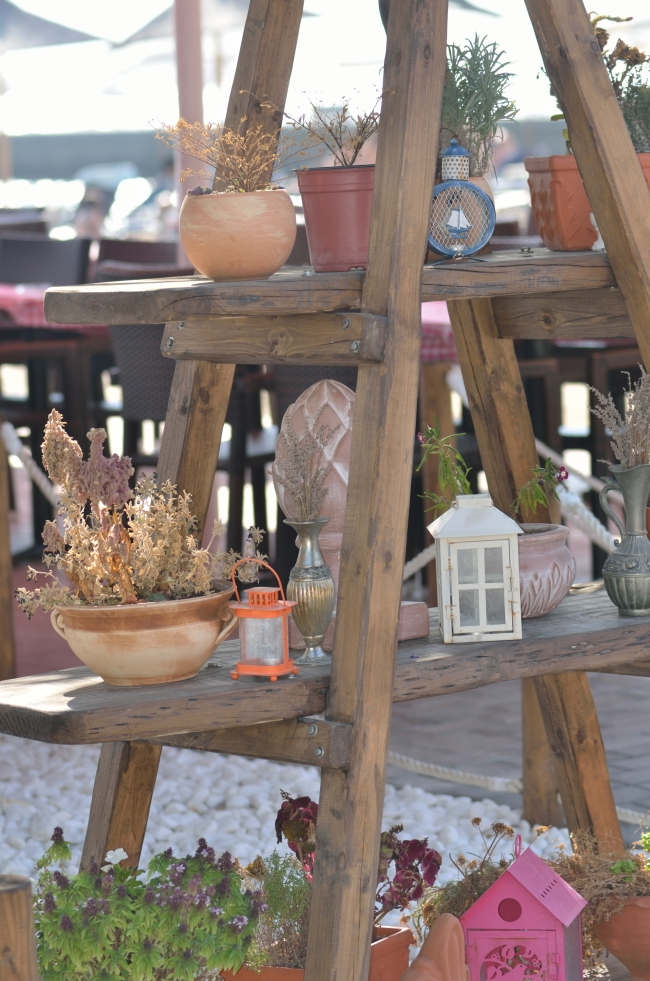 Jars, Lamps and Plants Garden Decor
