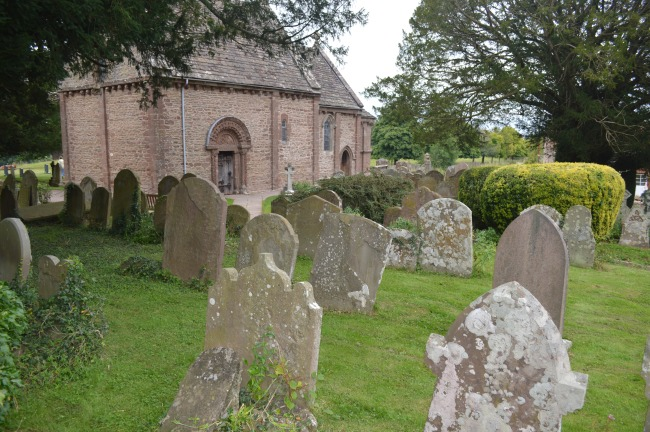 Old Church with Graveyard