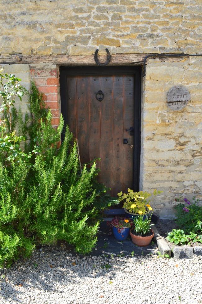 Small Door with Horseshoe