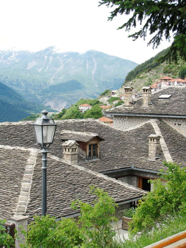 Stone Tiles Roofing in Mountain Village