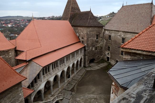 Transylvanian Court Yard